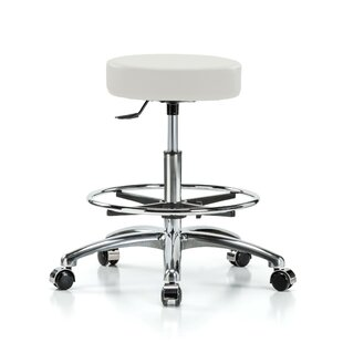 Height Adjustable Swivel Stool With Foot Ring by Perch Chairs & Stools Find