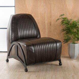 Nathalie Slipper Chair by Williston Forge