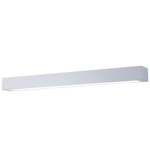 LED-Spiegelleuchte 1-flammig Ibros | Lampen > Badlampen | Schwarz/weiß | LightPrestige