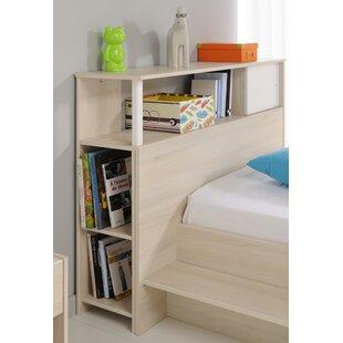Demeter Twin Bookcase Headboard ByZoomie Kids