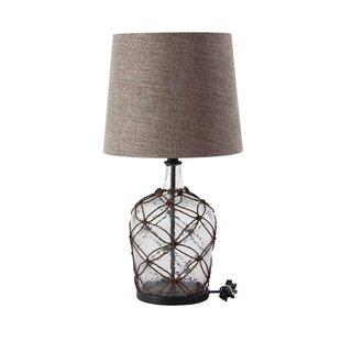 Gatson Modern Rattan Cage 29 Table Lamp