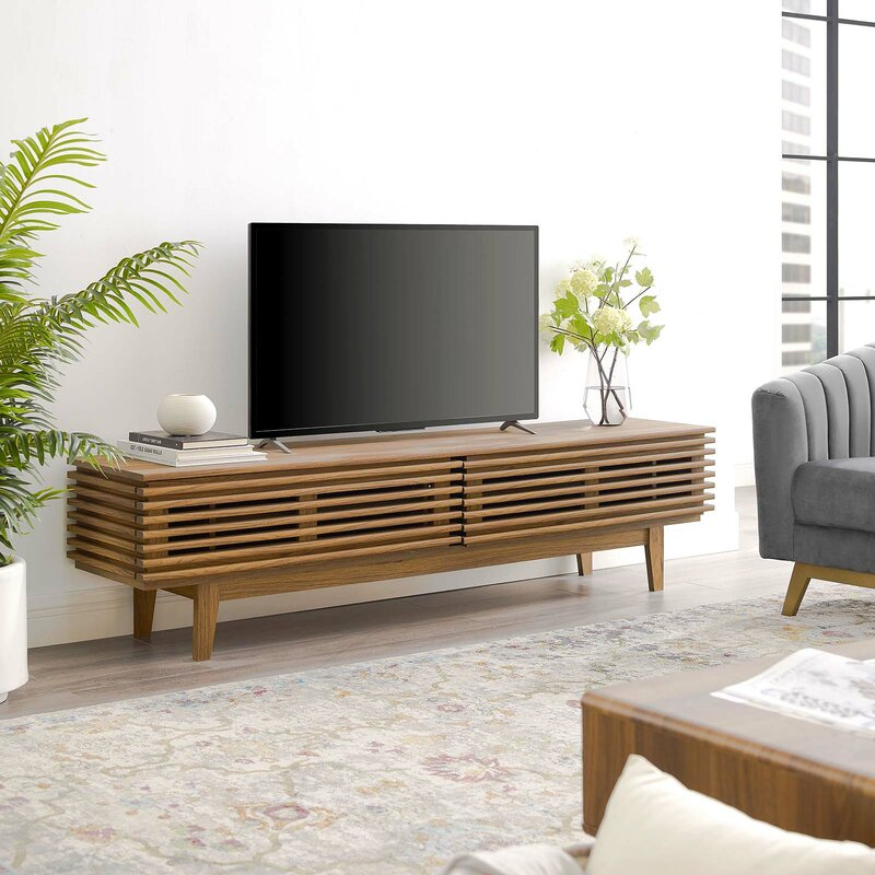 George Oliver Wigington Tv Stand For Tvs Up To 85 Reviews Wayfair