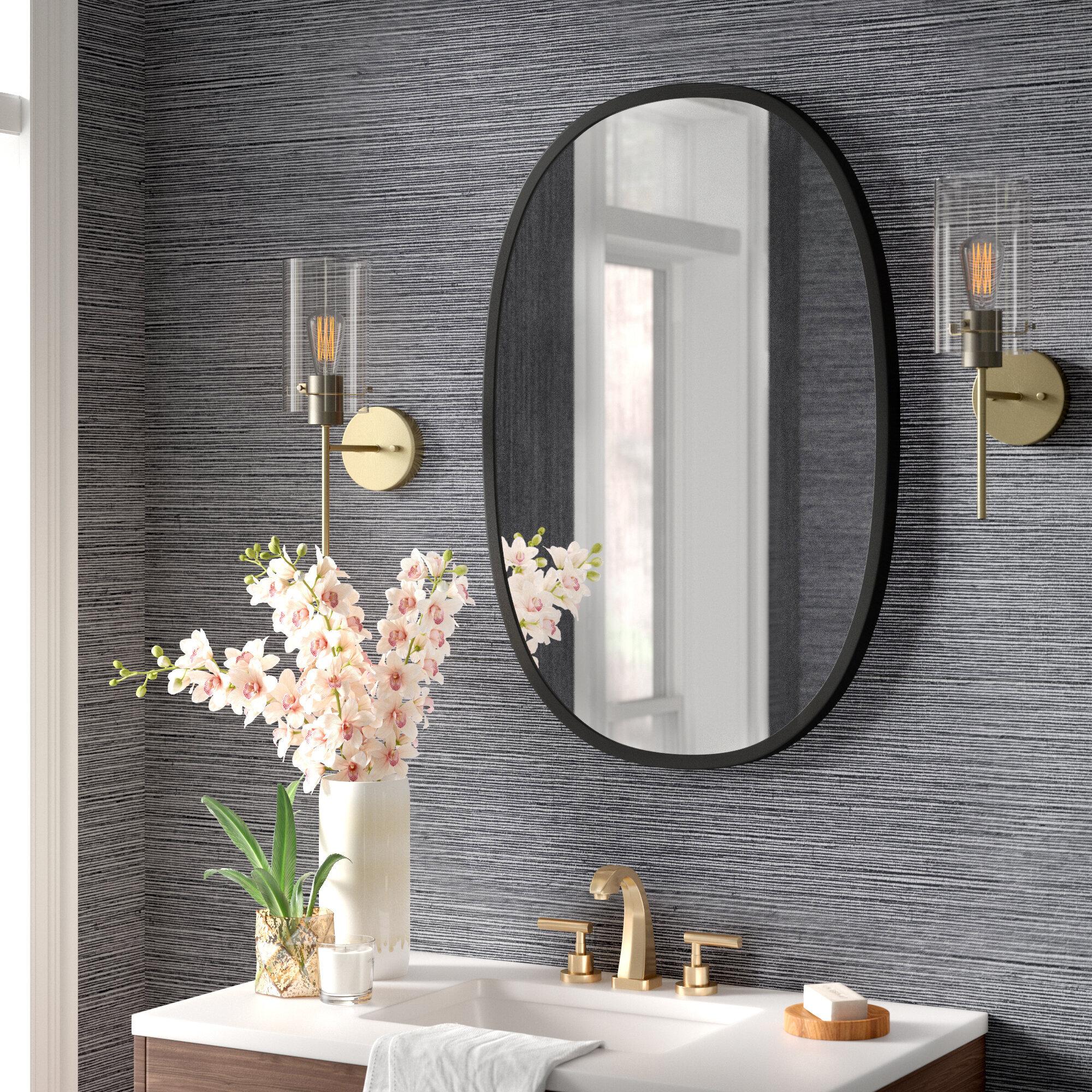 Hub Oval Modern Contemporary Accent Mirror Reviews Joss Main