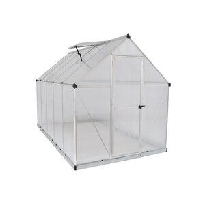 Nature Twin Wall 6 Ft. W x 10 Ft. D Greenhouse