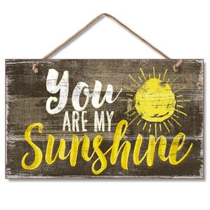 You Are My Sunshine Wall Decor you are my sunshine wall decor | wayfair