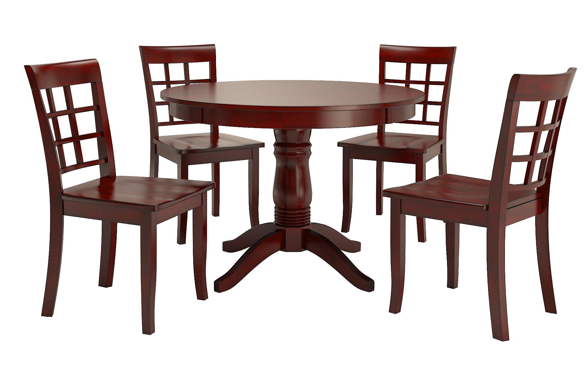 August Grove Alabama 5 Piece Dining Set Reviews Wayfair