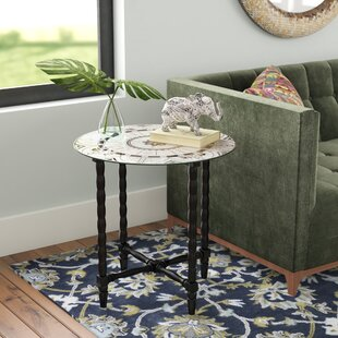 Wales End Table by Bungalow Rose Fresh