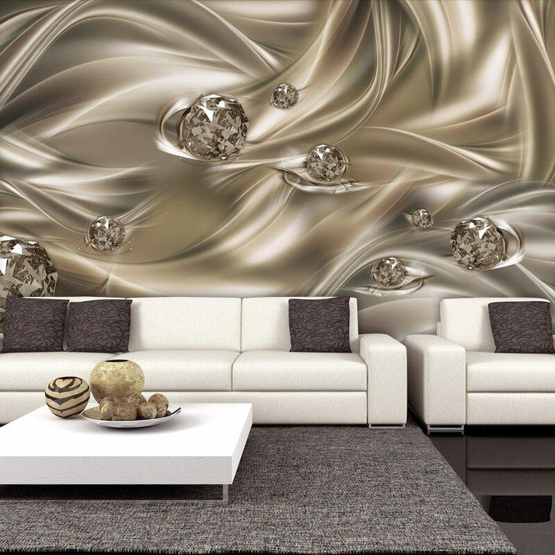 Artgeist Velvet Kiss 2.45m X 350cm Wallpaper & Reviews