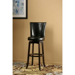 Shipyard 29.75 Swivel Bar Stool Red Barrel Studio