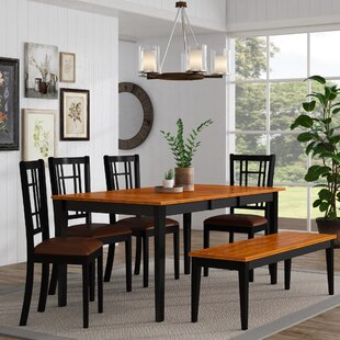 Pillar Traditional 6 Piece Dining Set