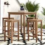 Elsmere Patio 5 Piece Teak Dining Set