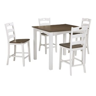 Mccormick 5 Piece Counter Height Dining Set by August Grove Cheap