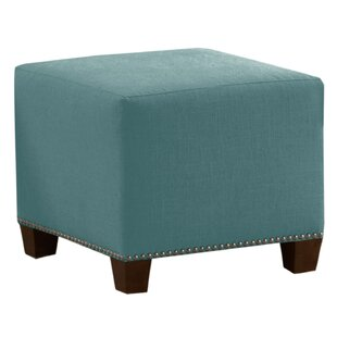 Best Price Cliffcrest Cube Ottoman ByWrought Studio