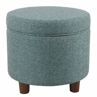 Strange Yarmouth Round Storage Ottoman Ocoug Best Dining Table And Chair Ideas Images Ocougorg