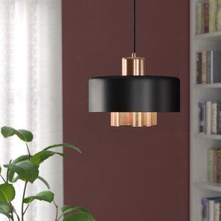Comparison Bacote 1-Light Pendant ByMercury Row