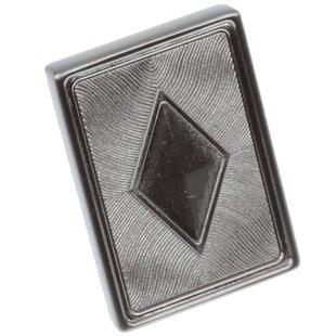Diamond Rectangle Novelty Knob by GlideRite Hardware Amazing