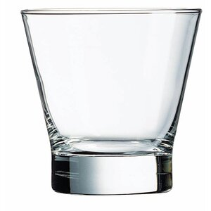 Pintado 10.5 Oz. Flared Double Old Fashion Glass (Set of 4)
