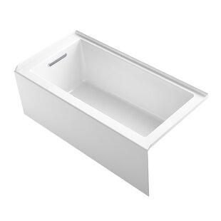 Underscore 60 x 30 Alcove Soaking Bathtub By Kohler