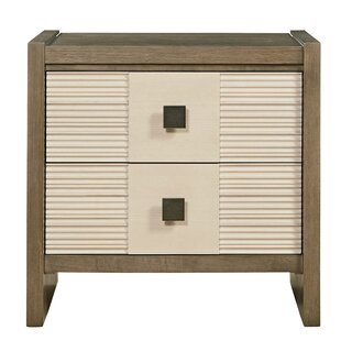 Antwi Dalke 2 Drawer Nightstand by World Menagerie
