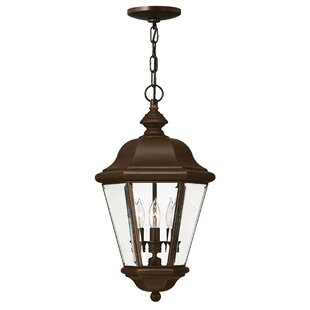 Inexpensive Clifton Beach 3-Light Outdoor Hanging Lantern By Hinkley Lighting