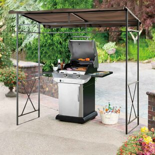 Lynne 7 Ft W X 5 D Steel Grill Gazebo By Sunjoy