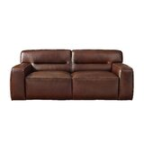 Sunset Trading Milan Leather Loveseat