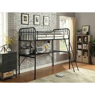 Eivind Metal Full Loft Bed