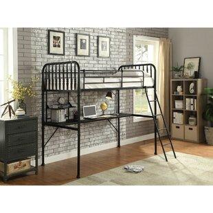 Eivind Metal Full Loft Bed by Harriet Bee