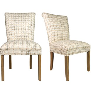 Roll Back Spring Upholstered Side Chair (Set of 2)