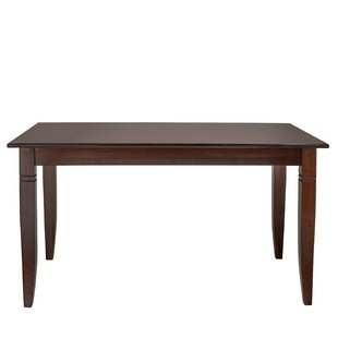 Gomes Solid Wood Dining Table Breakwater Bay