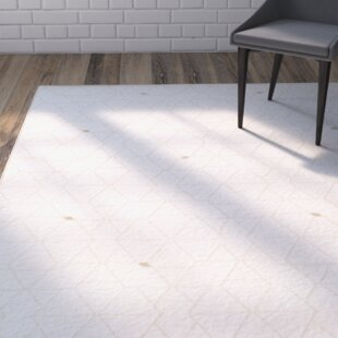 Reviews Larrick Neutral/Brown Area Rug By Mercury Row