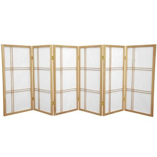 3575 Boyer Screen 6 Panel Room Divider By Mistana Cheap Price