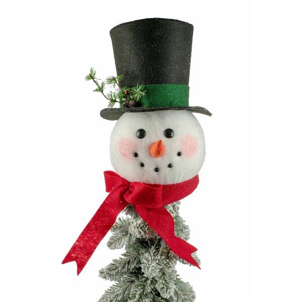 Snowman Head Tree Topper Wayfair Ca