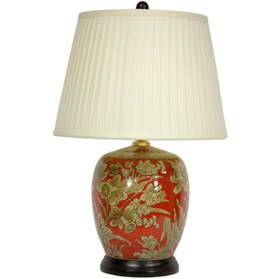 Floral Bouquet Jar 21 Table Lamp