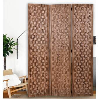 Rosecliff Heights Abrielle 3 Panel 6ft Room Divider Wayfair