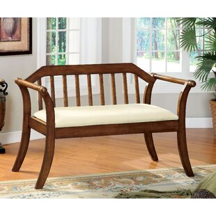Etzel Wood Bench by Darby Home Co