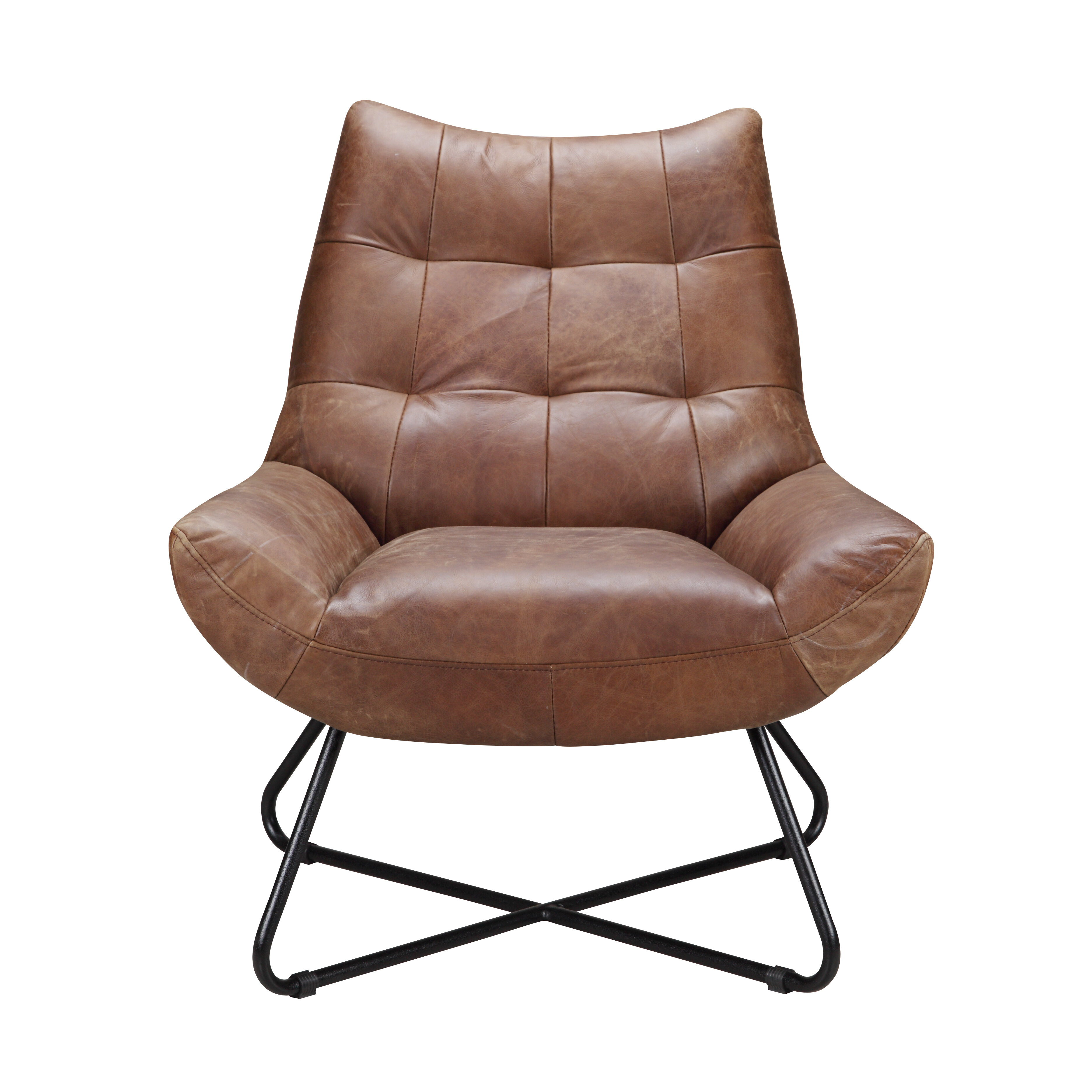 Picture of: Brown Leather Accent Chairs You Ll Love In 2020 Wayfair
