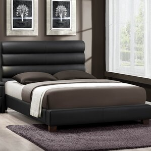 Aven Upholstered Panel Bed by Woodhaven Hill