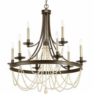 extra large foyer chandelier wayfair