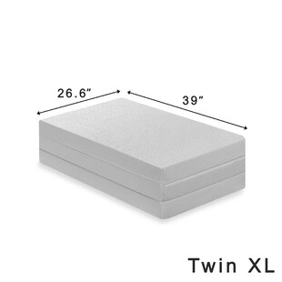 Gaertner 4 Tri Fold Memory Foam Mattress Topper
