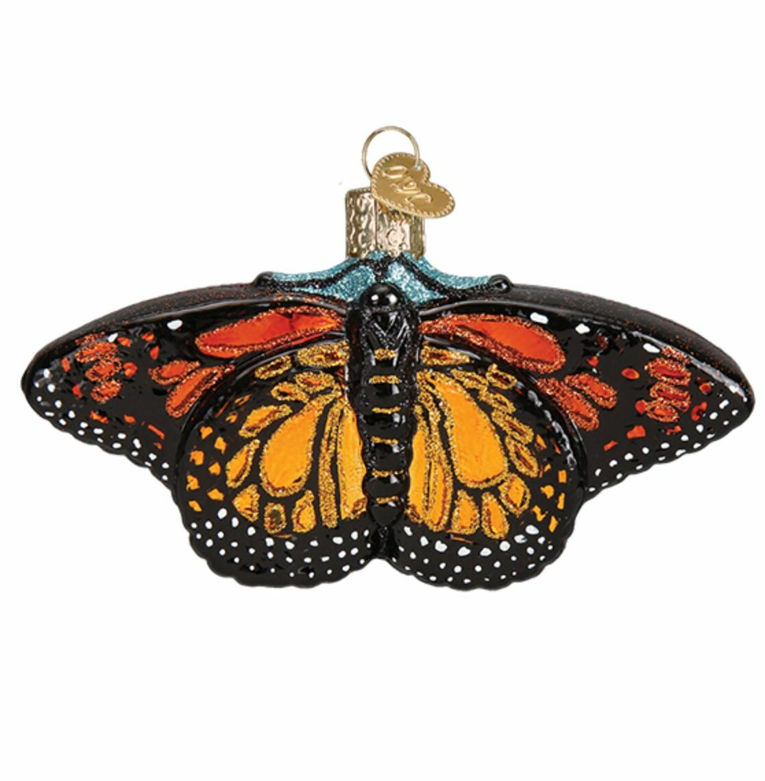 Old World Christmas Monarch Butterfly Hanging Figurine Ornament Wayfair