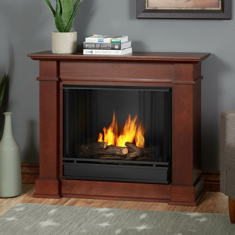 Real Flame Devin Petite Gel Fuel Fireplace Reviews Wayfair - Ashley gel fireplace fuel