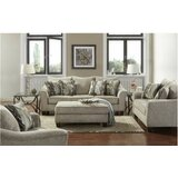 Hartsock 3 Piece Living Room Set by Alcott Hill®