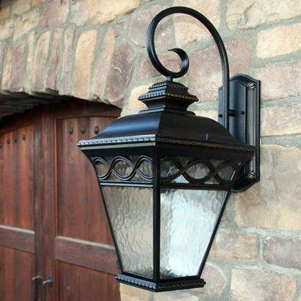 Fleur De Lis Living Jimenes 1 Light Outdoor Wall Lantern Reviews Wayfair Ca