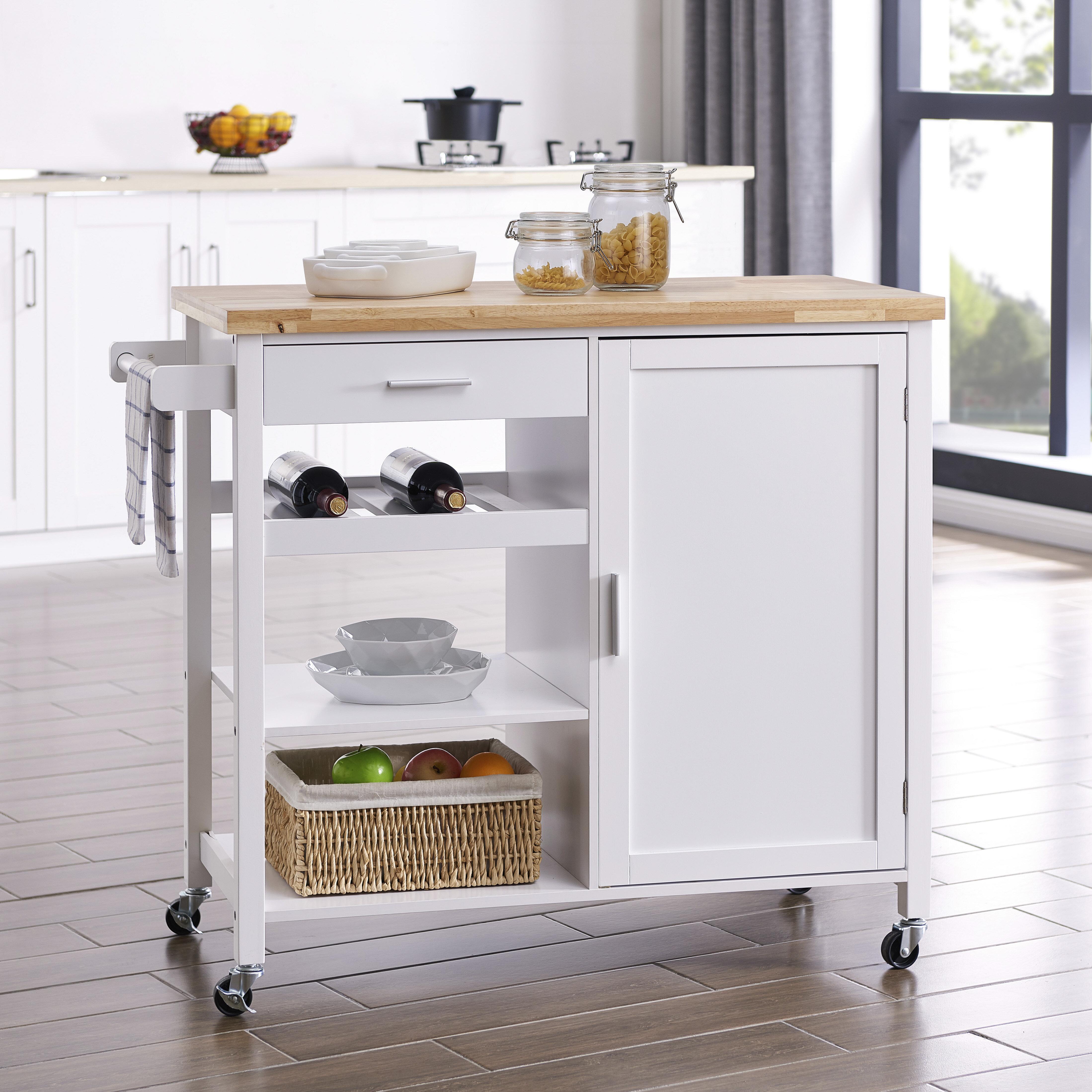 Laude Run Domenique Kitchen Cart