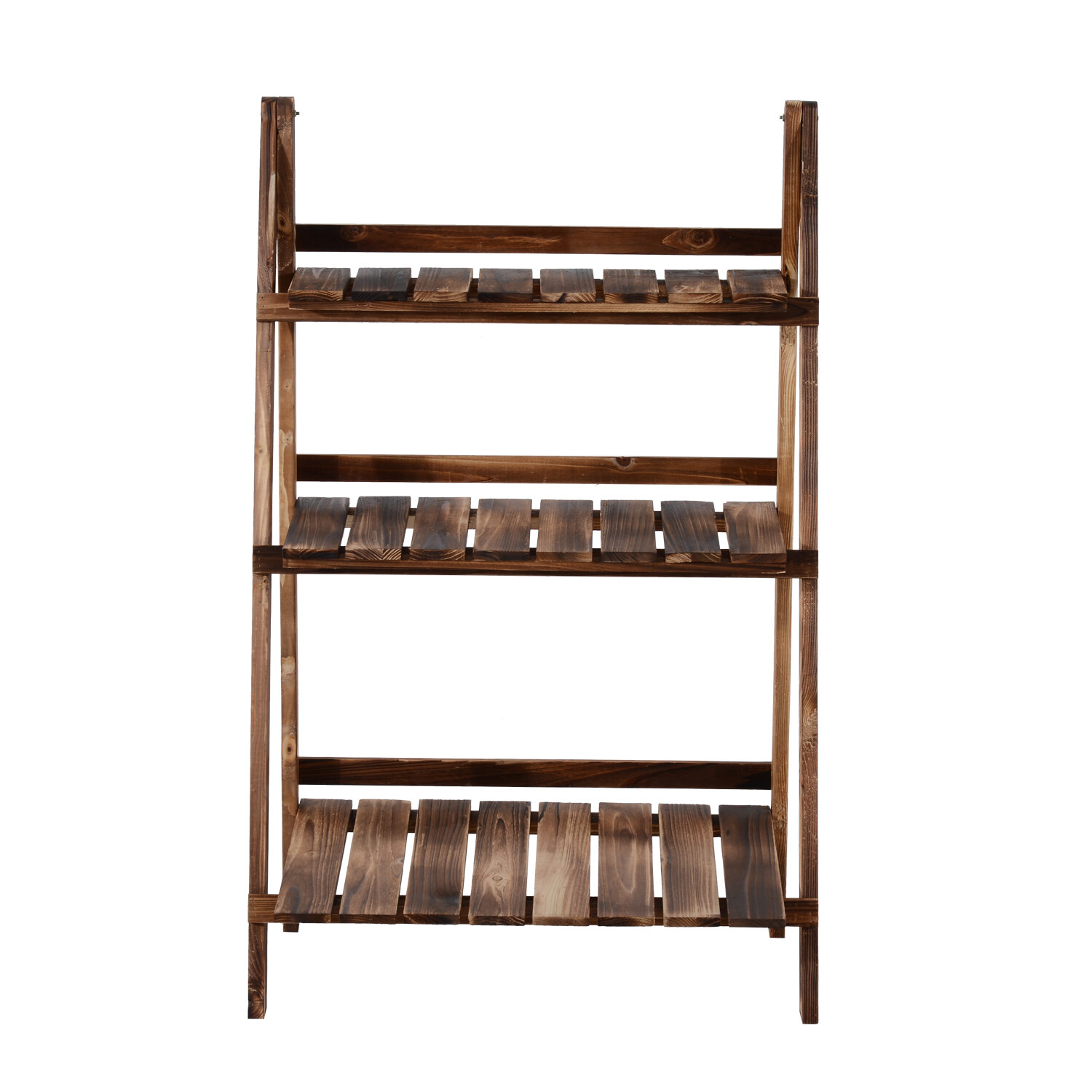 Millwood Pines Odin Wooden Multi Tiered Plant Stand Reviews Wayfair