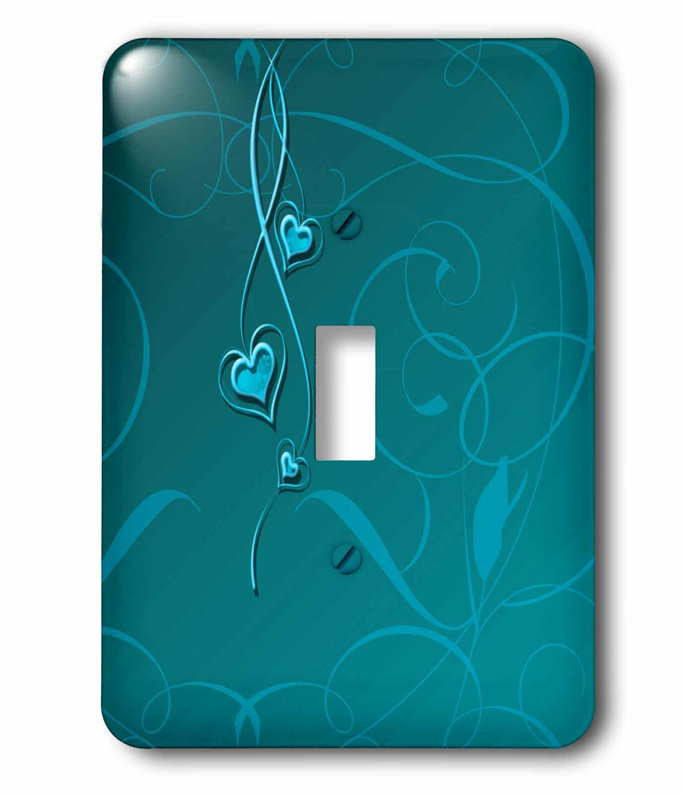 3drose Elegant Dangling Hearts On Vine 1 Gang Toggle Light Switch Wall Plate Wayfair