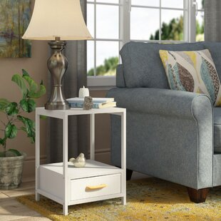 Alphin End Table with Storage