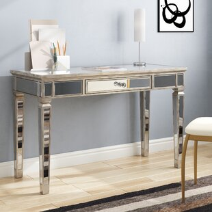 Hendon Mirrored Writing Desk by Willa Arlo Interiors 2019 Coupon