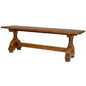 Countryside Wood Bench by Sarreid Ltd
